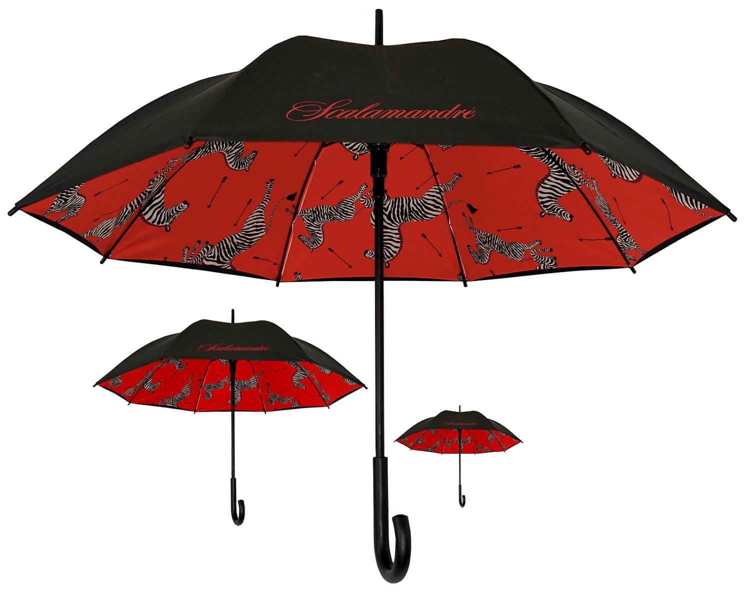 Our Scalamandré Zebras Umbrella