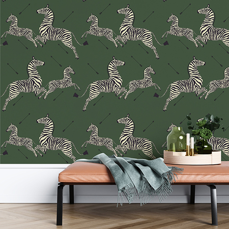 Zebras Self-Adhesive Wallpaper